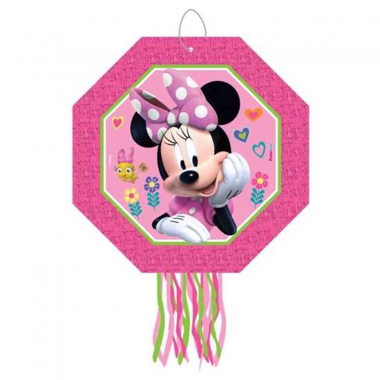Minnie Mause Happy Helpers Temalı Pinyata Çubuklu