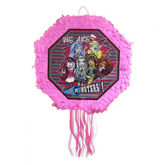 Monster High Temalı Pinyata Çubuklu