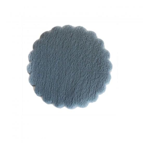 Organze Hazır Kesilmiş Yuvarlak Tül File Modeli 24 CM (100 Adet)
