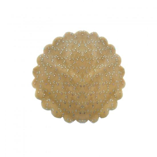 Taşlı Organze Hazır Kesilmiş Tül 22 Cm (100 Adet)