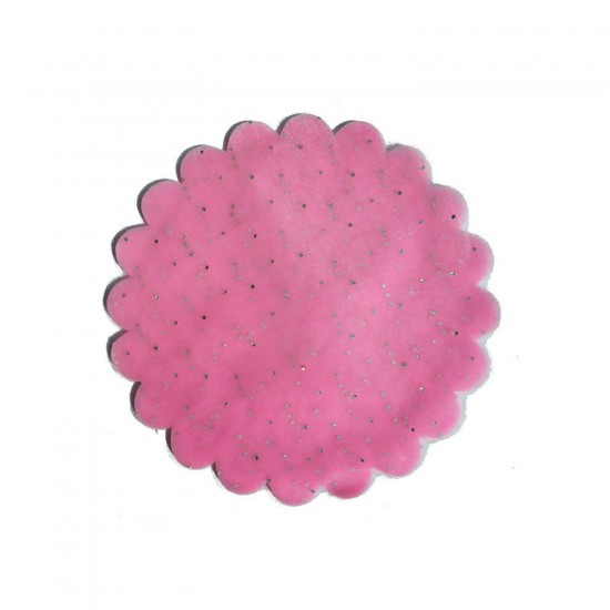Taşlı Organze Hazır Kesilmiş Tül 24 CM (100 Adet)