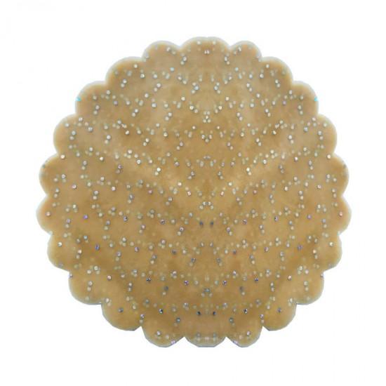Taşlı Organze Hazır Kesilmiş Tül 26 Cm (100 Adet)