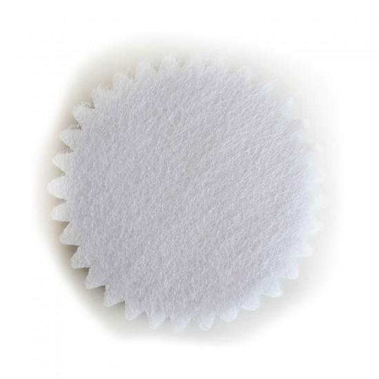 Organze Yuvarlak Hazır Kesilmiş Tül File Modeli 22 CM (100 Adet)