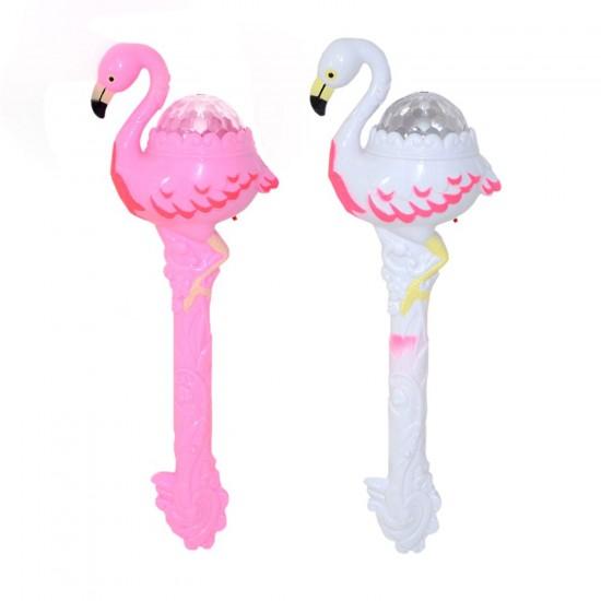 Işıklı Oyuncak Flamingo Disco Toplu Müzikli Çubuk 34 CM