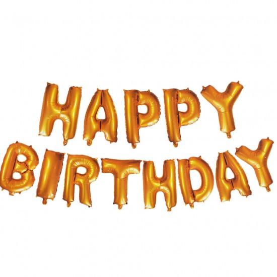 Folyo Balon Happy Birthday Yazısı