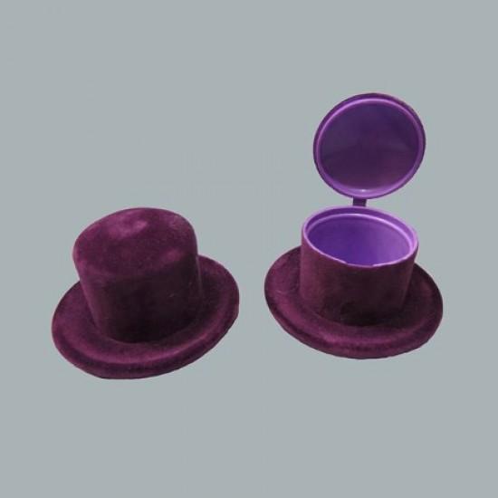 Şapka Kutu Flok Kaplama Renkli (10 Adet)