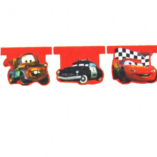 Cars Temalı Flama Bayrak