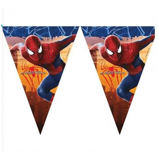 The Ultimate Spidermantemalı Flama Bayrak