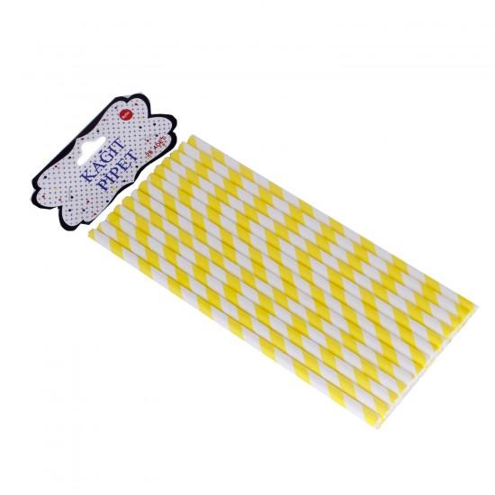 Pipet Kağıt Spiral Modeli (25 Adet)