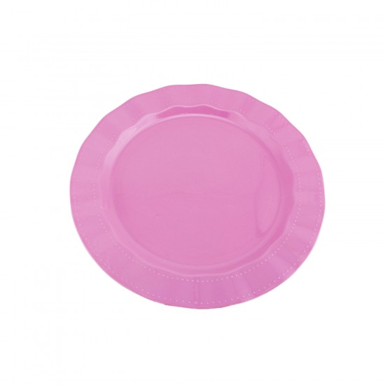 Plastik Lüks Tabak 22 CM (6 Adet)