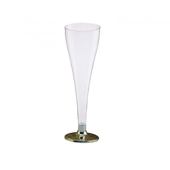 Plastik Şampanya Bardağı (Şampanya Kadehi) (8 Adet)