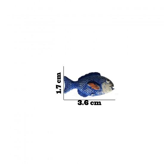 Polyester Biblo Magnet Sevimli Balık  Modeli (10 Adet)