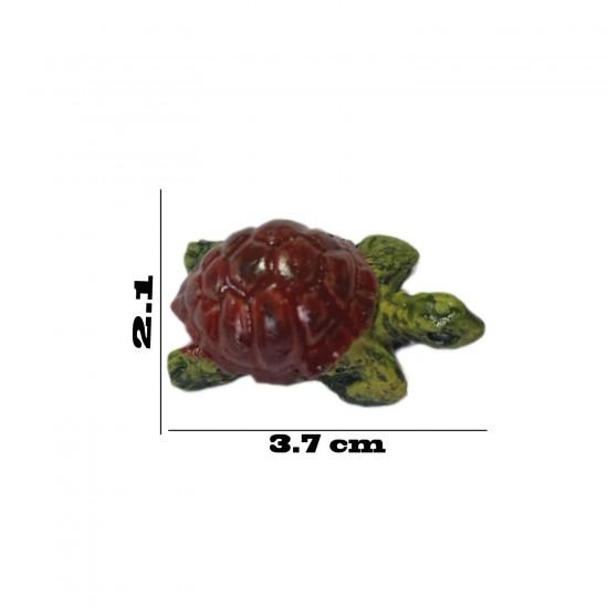 Polyester Biblo Magnet Sevimli Kaplumbağa Modeli Büyük Boy10 Adet