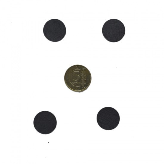 Mıknatıs Siyah Küçük (70 Adet)