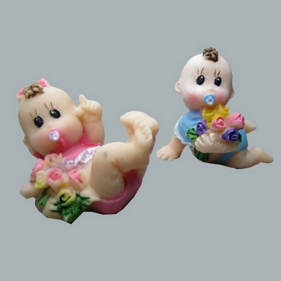 Bebek Çiçek Üstünde (50 Adet)