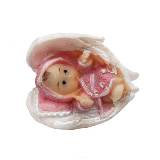 Bebek Şekeri Biblosu Bebek Kanatlı Küçük (20 Adet)