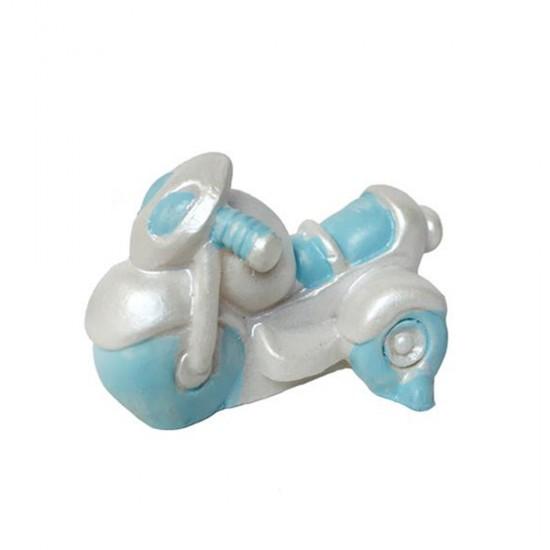 Bebek Şekeri Biblosu Motosiklet Polyester (50 Adet)