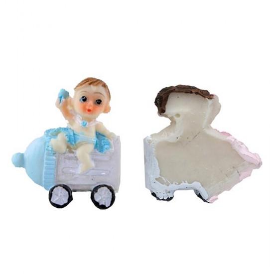 Bebek Şekeri Biblosu Biberonlu Magnet Modeli (50 Adet)