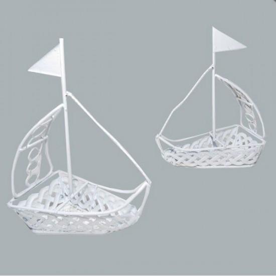 Gemi Metal Beyaz Yeni (10 Adet)