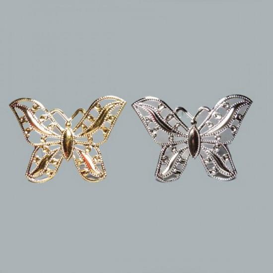 Kelebek Metal Büyük (100 Adet)