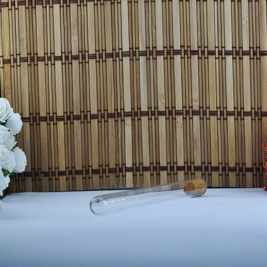 Şişe Cam Mantar Tıpalı Deney Tüpü Modeli 25 Cc (20 Adet)