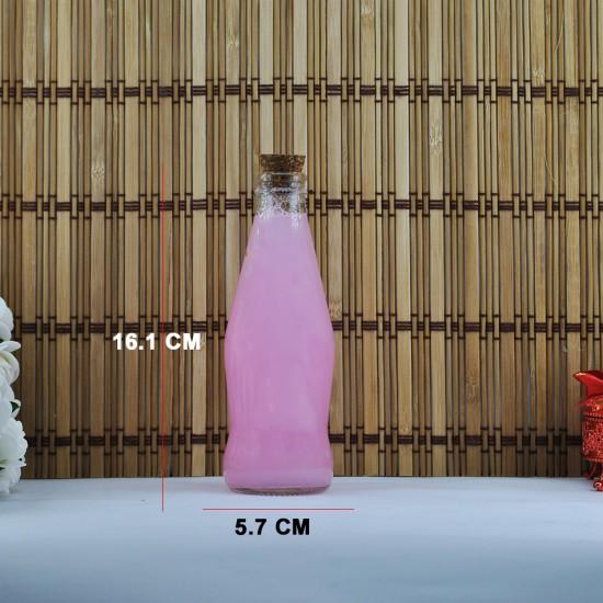 Şişe Cam Mantar Tıpalı Büyük Gazoz Modeli 200 Cc (10 Adet)