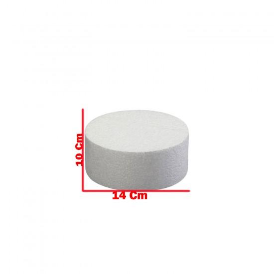 Strafor Pasta Tek  Katlı (Strafor Stand Tek  Katlı) 14 Cm