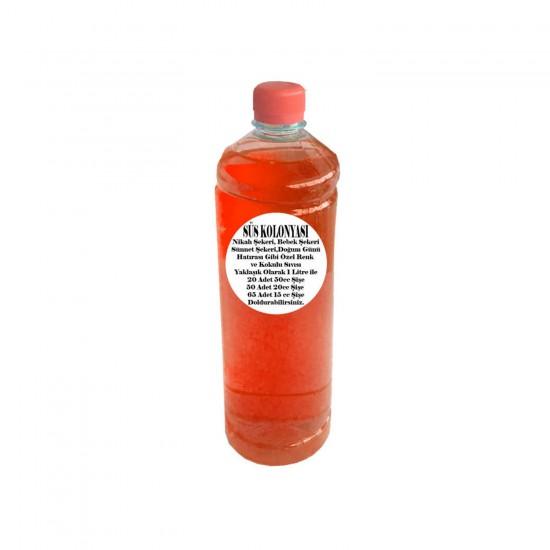 Zambak Kokulu Sıvı Şişe Süsü İçin Süsü Kolonyası (1 Litre)
