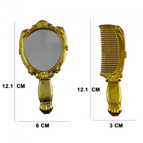 Ayna Ve Tarak Seti Plastik (10 Takım)