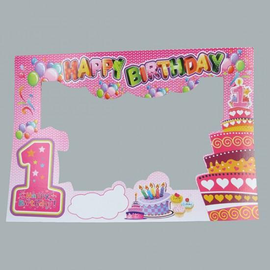 Çerçeve 1 Yaş Yeni Hapy Birthday (5 Adet)