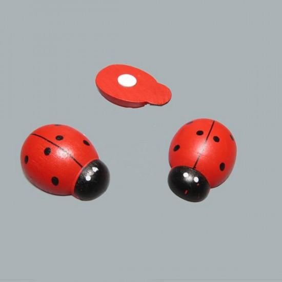 Uğur Böceği Kırmızı Battal Boy (50 Adet)