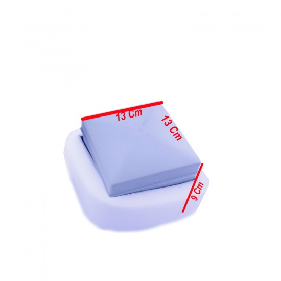Tesbih Kutusu Kare Plastik (9 CM X 13 CM)