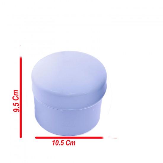 Tesbih Kutusu Yuvarlak Küçük Boy Plastik  9.5CM X 10.5 CM