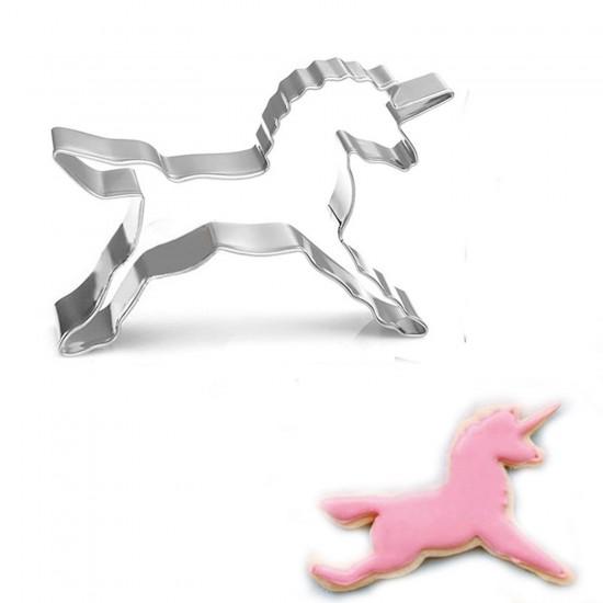 Unicorn Kek Kurabiye Ve Pasta Kalıbı Metal 8.5X8.5 CM