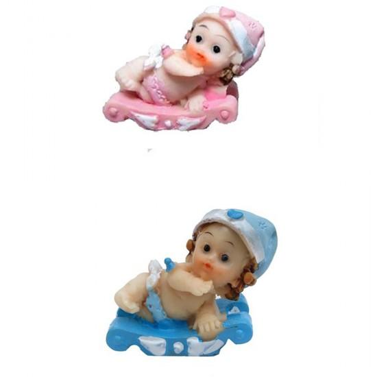 Bebek Şekeri Biblosu Bebek Kızakta (50 Adet)