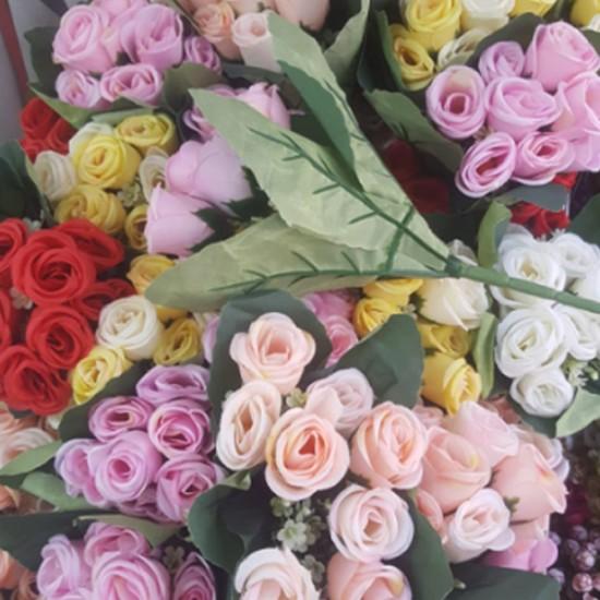 Yapay Çiçek Gül Demet (1 Demet)