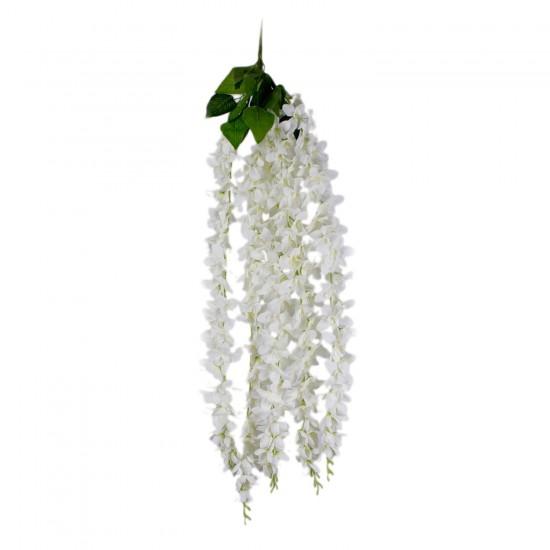 Yapay Çiçek Sarkıt Model Yapay Dal Çiçek 5 Dal 80 CM
